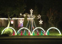 christmas lights set to music wowlights